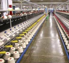 纺织工业使用换热器