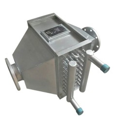 不锈钢串片式燃气锅炉节能器