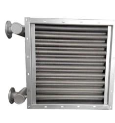 绕片式空气散热器 带法兰接口散热器
