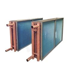 蓝铝翅片铜管表冷器