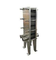 医药行业全不锈钢板式换热器