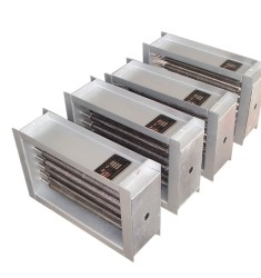 风道式直型翅片管电加热器
