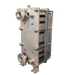 食品级全不锈钢双流程板式换热器