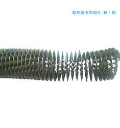 空气散热器专用散热翅片 碳钢翅片 铝轧片